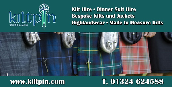 Kilt Pin advert.