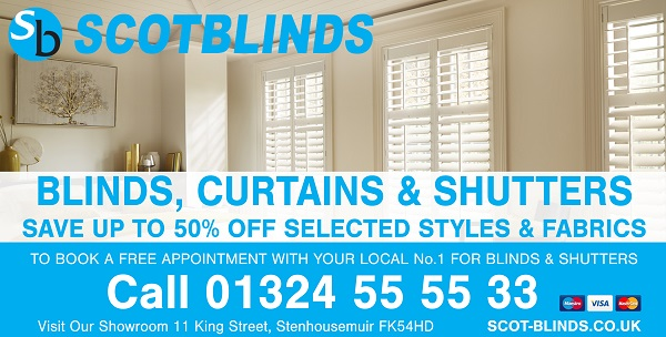 Scot Blinds advert.